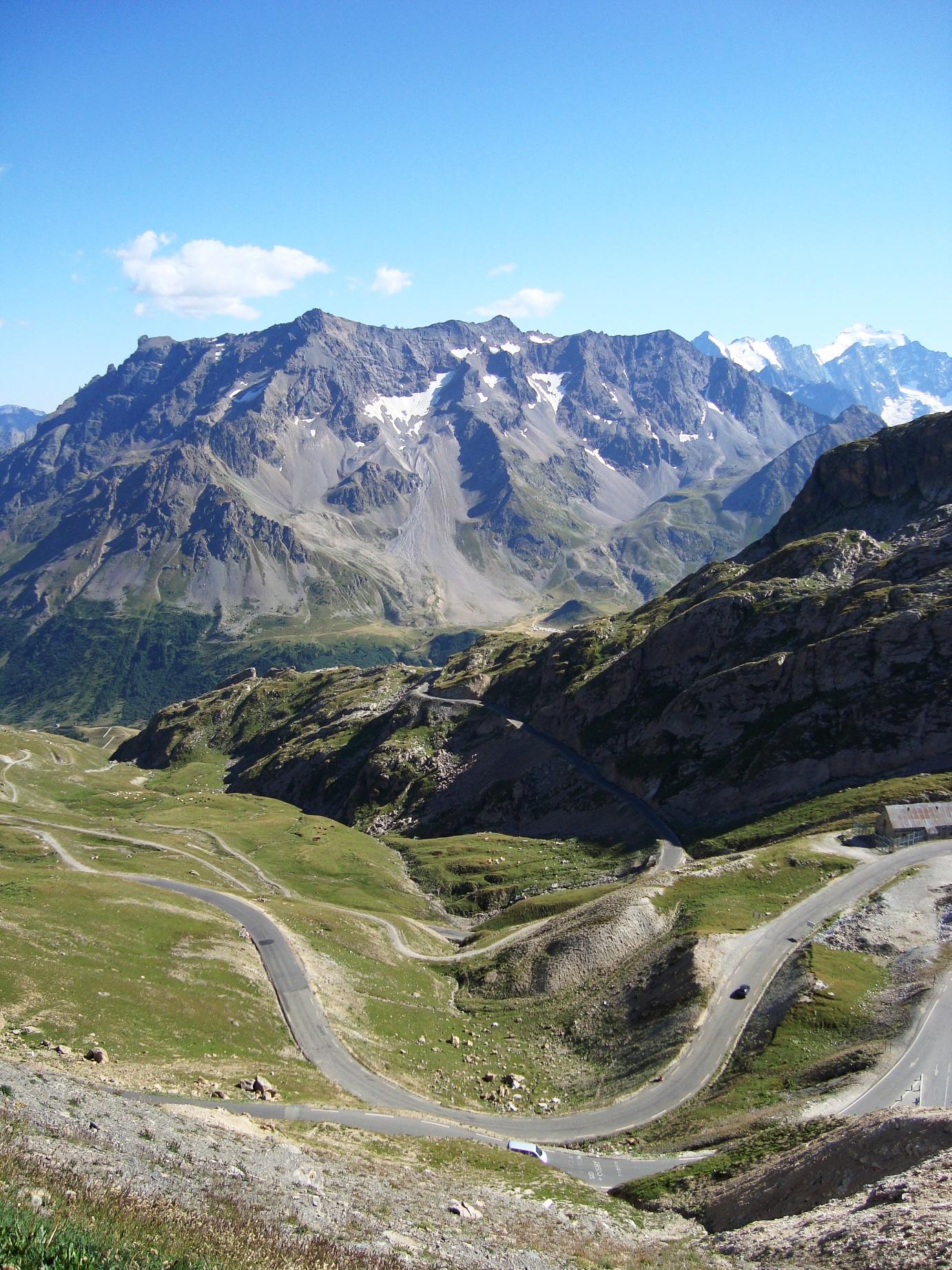 Zo ziet fietsen in de Alpen eruit